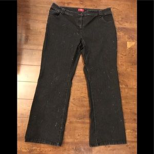 Contrast Jeans